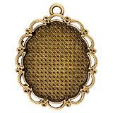 Vintage bronze pendant