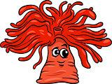 anemone character cartoon illustration