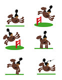 Funny Equitation man