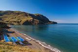Quiet bay, Black Sea, Crimea
