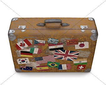 Old Traveled Bag