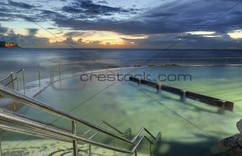 Sunrise from Bronte baths, Bronte, Australia
