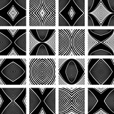 Patterns set. Design elements.