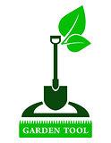 garden tool sign