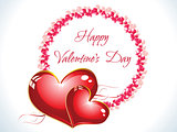 abstract happy valentine day background