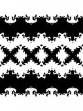 Decorative pattern in a graphic style