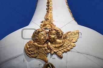 pair of golden angels