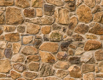 Masonry rock wall seamlessly tileable