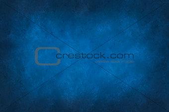 Blue mottled background vignetted around the edges