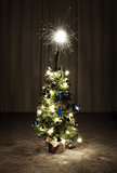 Chrismas Tree with Sparkles