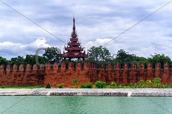 Tower of Mandalay Palace