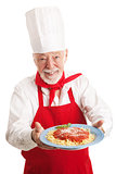 Italian Chef Isolated