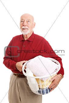 Man Hates Laundry