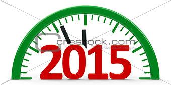 Clock 2015, half