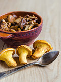 Roasted Golden Chanterelles