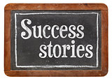 success stories on blackboard