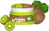 Bottle Kiwi Jam