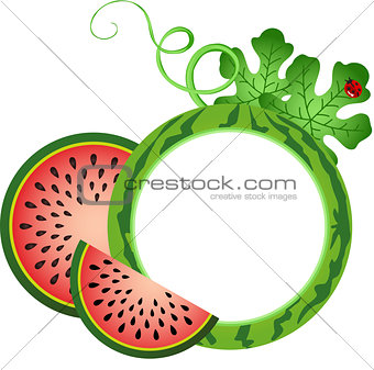 Watermelon Photo Frame