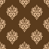 Floral seamless arabesque pattern
