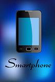 Glossy smartphone