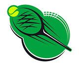 Tennis sports icon