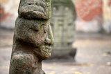 stone Aztec gods