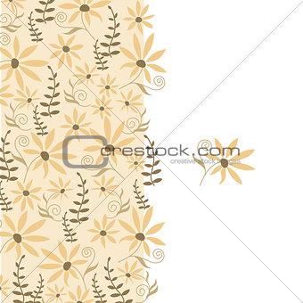 Card with peach flower