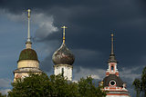 domes of the old Russian churches