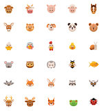 Animals icon set. Part 1