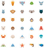 Animals icon set. Part 2