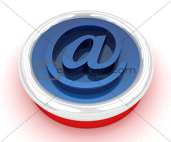 Button email Internet push