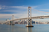 San Francisco and Bay bridge