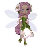 Cute Floral Fairy