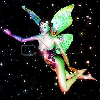 Fairy in stars