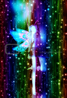Fairy in the Stars