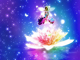 Fantasy floral fairy