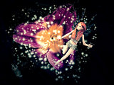 Magic fairy flower