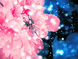 Magic flower with fairy