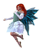 Red haired fairy