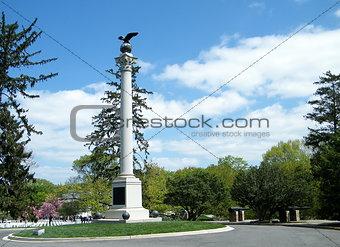 Arlington Cemetery Spanish-American Memorial 2010