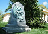 Arlington Cemetery Tomb of General Sheridan