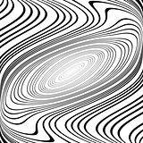 Design monochrome whirl ellipse background