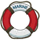 marine theme, lifebuoy