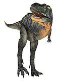 Scared Dinosaur Aucasaurus
