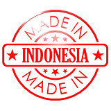 Made in Indonesia red seal