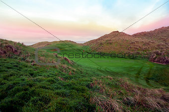 beautiful Ballybunion links golf course