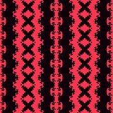 Seamless geometric pattern in a red colors