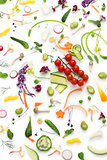 healthy eating concept, botanical art