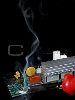 Circuit soldering