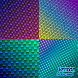 Vector neon backgrounds